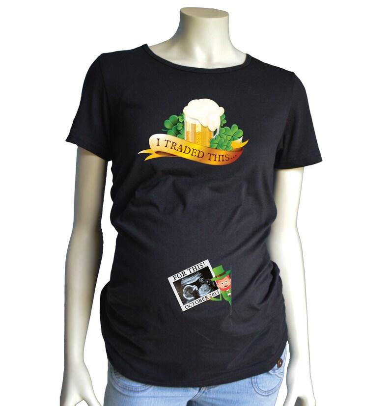968a4095 St Patricks Day Maternity Shirt St Patrick's Day | Etsy