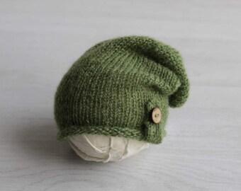 Tuque bébé nouveau-né photo accessoires nouveau-né Tuque nouveau-né Tuque  nouveau-né slouch hat Slouchy bébé bébé chapeau bébé accessoire de  photographie 2b6eb4c4ac9
