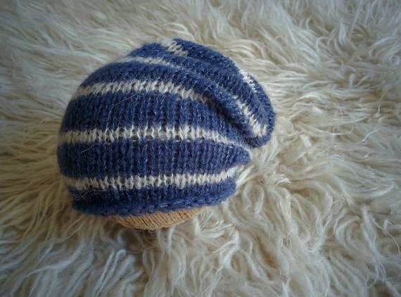 Brossé alpaga bonnet Tuque nouveau-né accessoire de   Etsy c88ac2a8088
