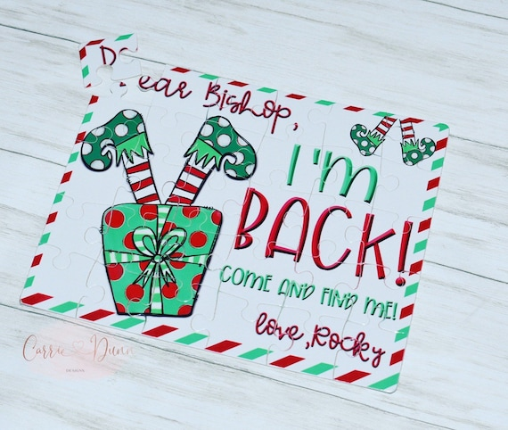 Personalized Christmas Elf Puzzle