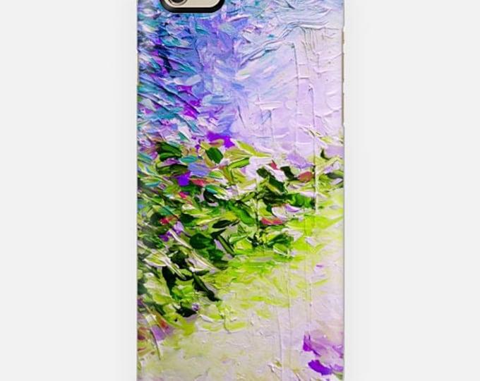 PARADISE DREAMING COASTAL, Purple Green Pastel iPhone 11 Pro Max Case iPhone X Xr Xs Samsung Galaxy Beach Spring Summer Ocean Waves Mermaid