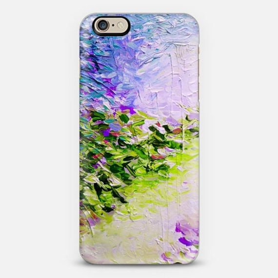 PARADISE DREAMING COASTAL, Purple Green Pastel iPhone 11 Pro Max Case iPhone X Xr Xs Samsung Galaxy Beach Spring Summer Ocean Waves Mermaid