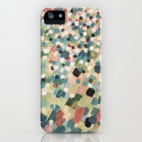 SWEPT AWAY 4 Pastel Shabby Chic Pink Grey iPhone 11 Pro Max Case iPhone X Xr Xs Samsung Galaxy Ocean Waves Splash Girly Abstract Painting