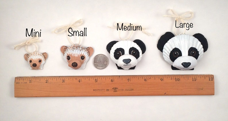 DIY craft supply-blank seashell dog ornament DIY Christmas ornament. Husky, Corgi, etc.