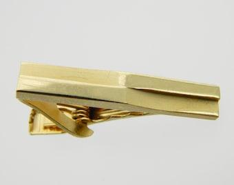 Tiny Gold Tie Clip - TT026