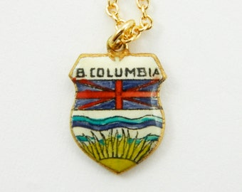 British Columbia Charm Necklace