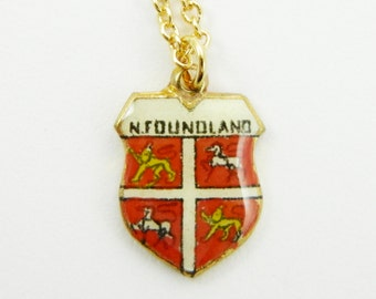 Newfoundland Charm Necklace
