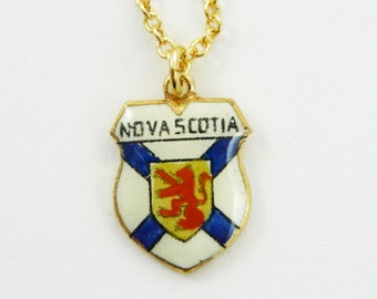 Nova Scotia Charm Necklace