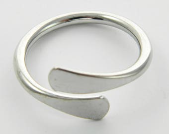 Vintage Silver Wrap Around Ring - VR0025