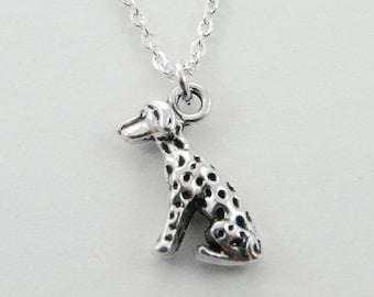 Dalmatian Charm Necklace - NC2002