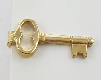 Vintage Key Tie Clip