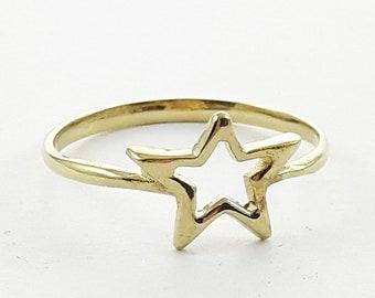 Vintage Star Ring