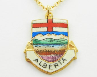Alberta Necklace - Canada Necklace