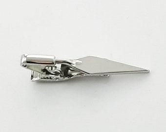 Silver Trowel Tie Clip