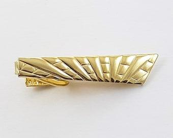 Vintage Gold Mod Tie Clip