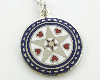 Prosperity Charm Necklace in Silver