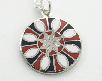 Good Luck Charm Necklace in Silver - Good Luck All Year