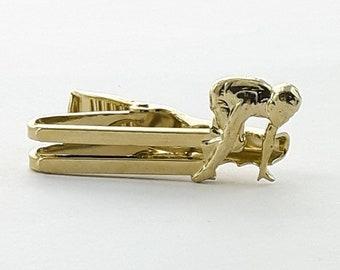 Runner Tie Clip in Gold