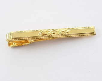 Vintage Gold Plated Tie Clip