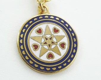 Prosperity Charm Necklace in Gold