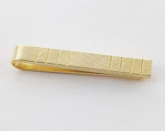 Vintage Gold Tone Tie Bar
