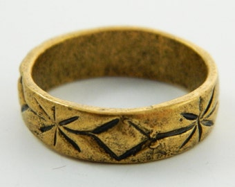 Carved Boho Band