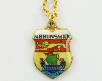New Brunswick Charm Necklace