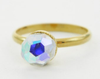 Color Prism Ring - Ice Ring - Adjustable Ring - Pinky Ring