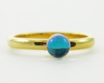 Color Prism Ring - Borealis Ring - Adjustable Ring - Pinky Ring
