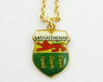 Saskatchewan Charm Necklace