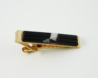 Natural Amethyst Tie Clip