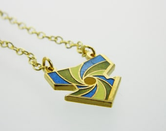 Arrow Necklace - Spring