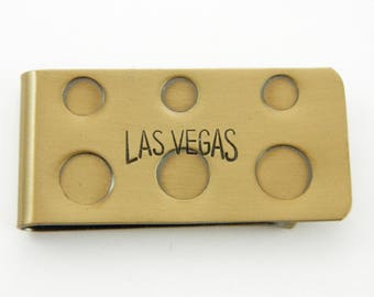 Bronze Las Vegas Money Clip - Vintage Money Clip