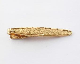 Vintage Bronze Tone Tie Clip