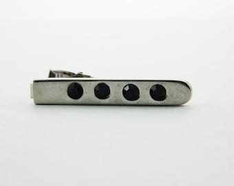 Quattro Tie Clip - TT177 - Silver Tie Clip - Vintage Tie Clip