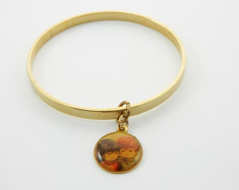 Fran Mar Moppets Bangle - Girl and Boy