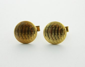Gold Featherweight Cuff Links