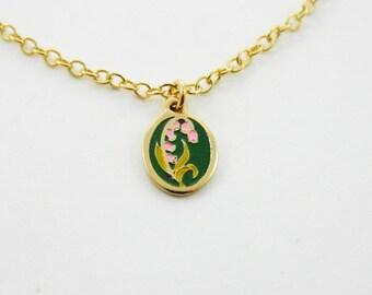 Foxglove Charm Necklace
