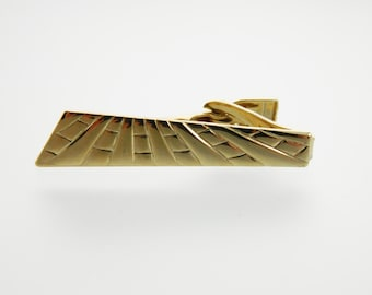 Gold Rockabilly Tie Clip