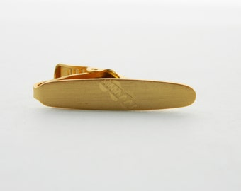 Zipper Print Tie Clip