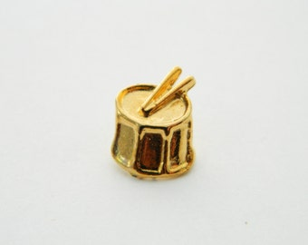 Gold Drum Pin