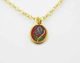 Iris Charm Necklace