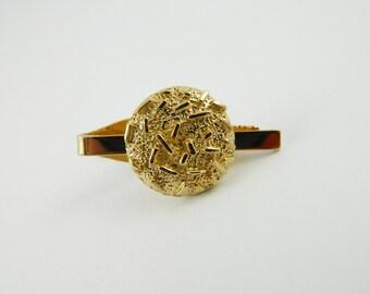 Gold Nugget Tie Clip