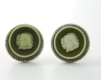 Roman Warrior Cuff Links