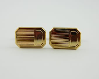 Classic Gold Cuff Links