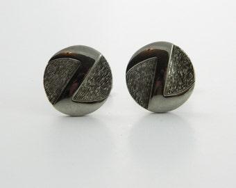 Silver Z Cuff Links - CL018