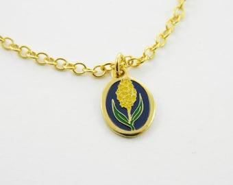 Hyacinth Charm Necklace