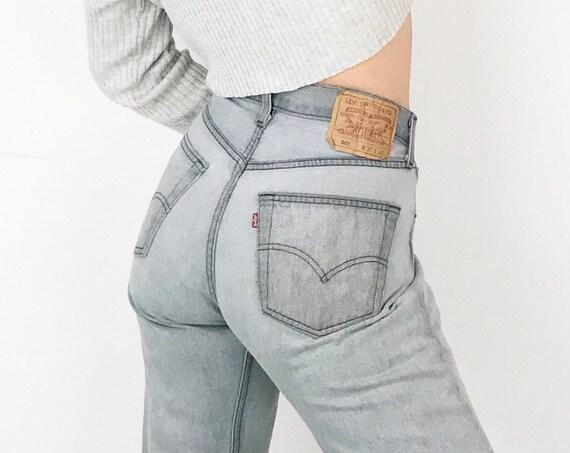 Levi's 501 Grey Jeans / Size 29