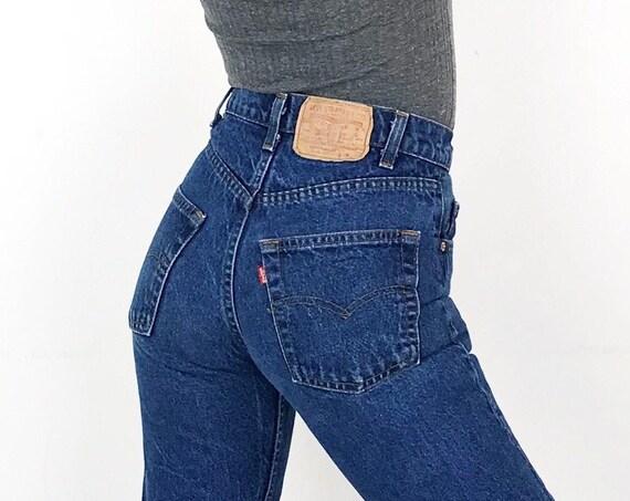 70's Levi's 505 Vintage Jeans / Size 25