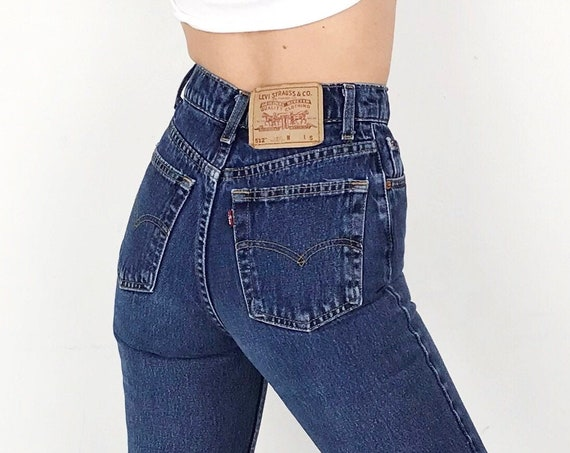 Levi's 512 Vintage Jeans / Size 23